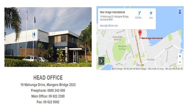 Trụ sở chính của Tập đoàn New Image