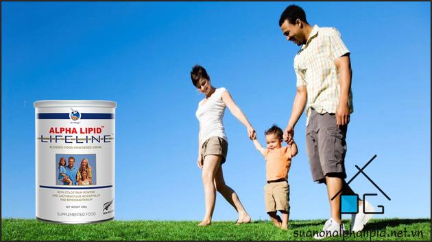 lợi ích khi sử dụng sữa non alpha lipid