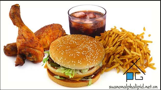 tranh an fastfood