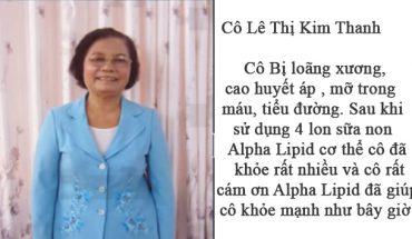 Cô lê Thị Kim Thanh, 77 tuổi, địa chỉ KDC 91b Ninh Kiều Cần Thơ