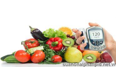 Chế độ ăn uống lành mạnh giúp đường huyết ổn định