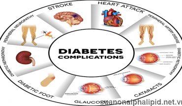 tiểu đường làm tăng nguy cơ cho nhiều bệnh nghiêm trọng khác đặc biệt là các bệnh về mạch máu điển hình: mạch máu lớn gồm bệnh mạch vành, đột quỵ, mạch máu nhỏ gồm bệnh thận, bệnh thần kinh, bệnh võng mạc