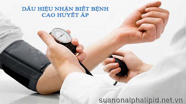 Dấu hiệu của bệnh cao huyết áp