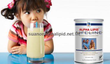Sữa non alpha lipid chất lượng uy tín đem đến nguồn dinh dưỡng đầy đủ cho trẻ nhỏ