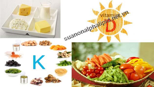 Vitamin và khoáng chất cho người già