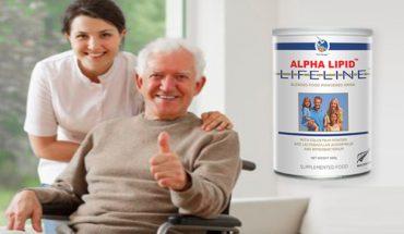 sữa non alpha lipid tốt cho sức khỏe người cao tuổi
