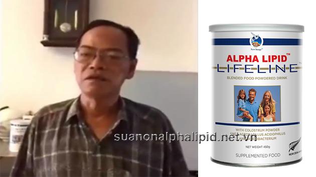 Bác Trần Văn Hoa bị phồng động mạch chủ tim rất nặng nhưng sau khi dùng sữa non Alpha Lipid bác đã khỏe mạnh và không phải mổ tim