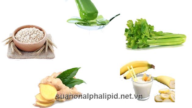 thực phẩm tốt cho trào ngược dạ dày