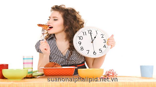 Ăn đúng giờ để điều chỉnh chức năng của ruột, các bữa ăn nhỏ tốt hơn cho chứng tiêu chảy