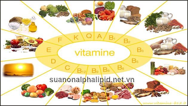 vitamin va khoang chat