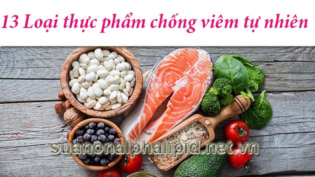 Thực phẩm chống viêm tự nhiên