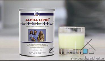 Cách dùng sữa non alpha lipid