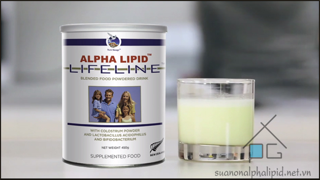 sử dụng sữa non alpha lipid