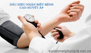 Dấu hiệu nhận biết bệnh cao huyết áp