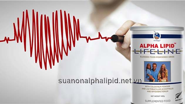 chống cholesterol cao với sữa non alpha lipid