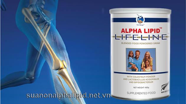 canxi trong sua non alpha lipid
