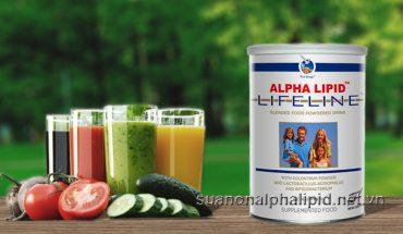 Sữa non Alpha Lipid chống lão hóa và bổ sung vi chất dinh dưỡng cho cơ thể