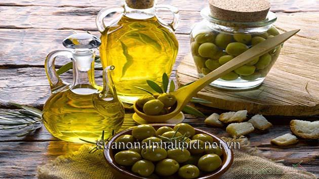 dau olive chong lao hoa