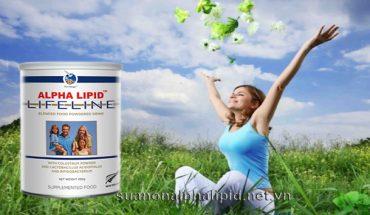 Sữa non Alpha Lipid với đặc tính chống oxy hóa, cho cơ thể khỏe mạnh