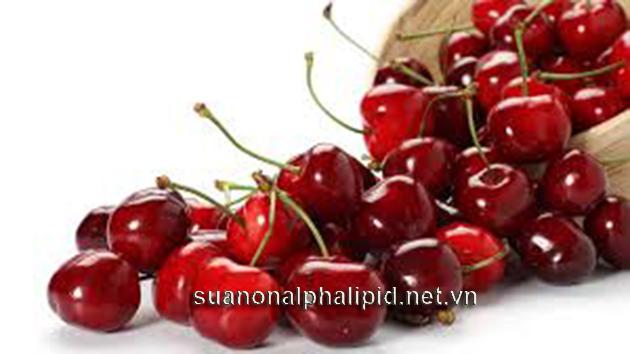 Các loại quả mọng là thực phẩm nhiều anthocyanins