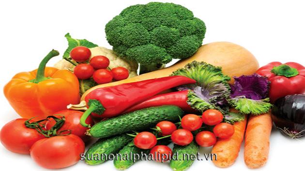 Trái cây, rau cải và ngũ cốc nguyên hạt
