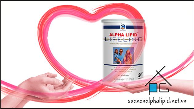 sữa non alpha lipid cho người loãng xương