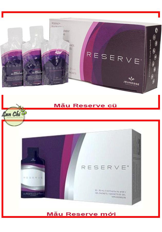 mẫu reserve mới và cũ