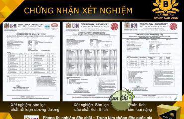 giấy chứng nhận multi juice