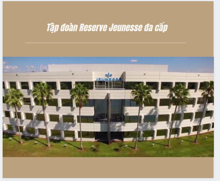 reserve là công ty đa cấp chân chính