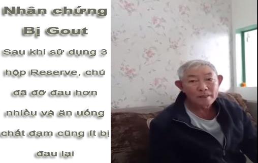 nhân chứng reserve bệnh gout